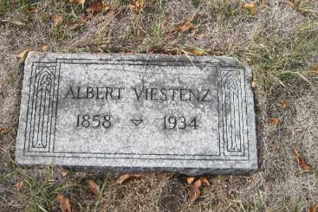 VIESTENZ, ALBERT - Cass County, North Dakota   ALBERT VIESTENZ - North Dakota Gravestone Photos