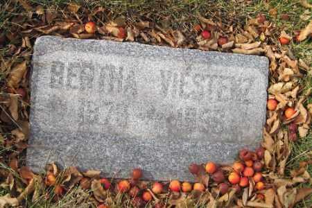 VIESTENZ, BERTHA - Cass County, North Dakota | BERTHA VIESTENZ - North Dakota Gravestone Photos
