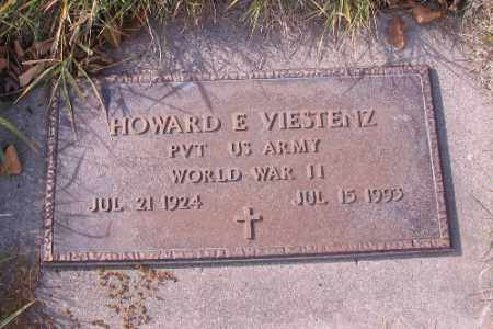 VIESTENZ, HOWARD E. - Cass County, North Dakota | HOWARD E. VIESTENZ - North Dakota Gravestone Photos