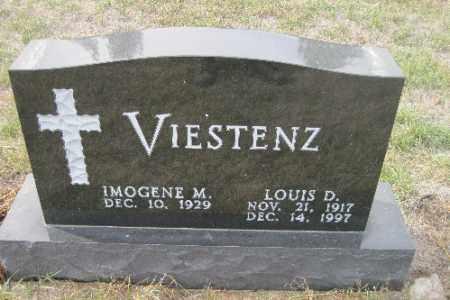 VIESTENZ, LOUIS D. - Cass County, North Dakota | LOUIS D. VIESTENZ - North Dakota Gravestone Photos