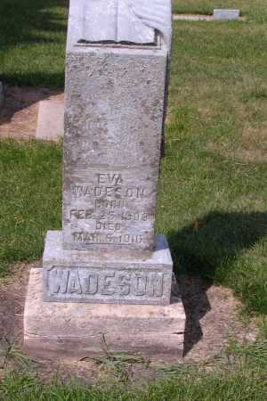 WADESON, EVA - Cass County, North Dakota | EVA WADESON - North Dakota Gravestone Photos