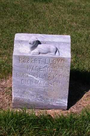 WADESON, ROBERT LLOYD - Cass County, North Dakota | ROBERT LLOYD WADESON - North Dakota Gravestone Photos