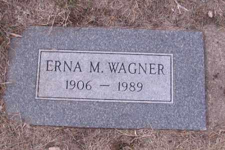 WAGNER, ERNA M. - Cass County, North Dakota | ERNA M. WAGNER - North Dakota Gravestone Photos