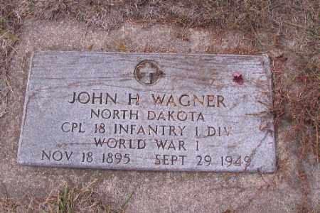 WAGNER, JOHN H. - Cass County, North Dakota | JOHN H. WAGNER - North Dakota Gravestone Photos