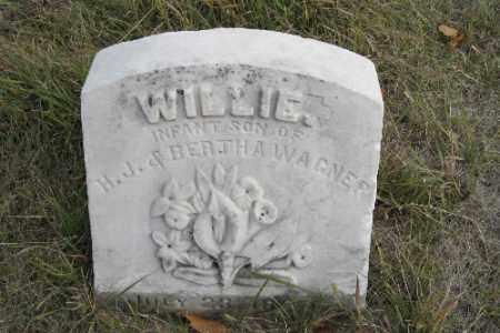 WAGNER, WILLIE - Cass County, North Dakota | WILLIE WAGNER - North Dakota Gravestone Photos