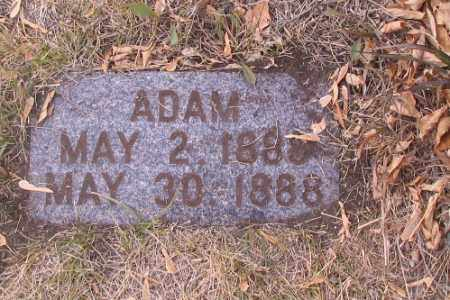 WAHOWSKE, ADAM - Cass County, North Dakota | ADAM WAHOWSKE - North Dakota Gravestone Photos