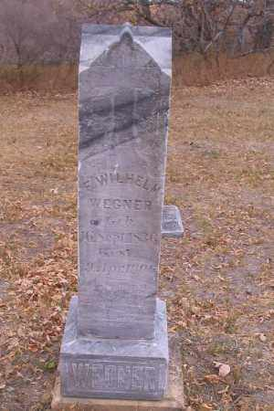 WEGNER, F. WILHELM - Cass County, North Dakota   F. WILHELM WEGNER - North Dakota Gravestone Photos