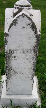 WEGNER, JOTTLIES - Cass County, North Dakota | JOTTLIES WEGNER - North Dakota Gravestone Photos
