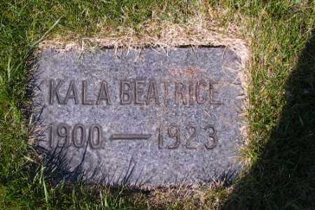 WEGNER, KALA BEATRICE - Cass County, North Dakota | KALA BEATRICE WEGNER - North Dakota Gravestone Photos