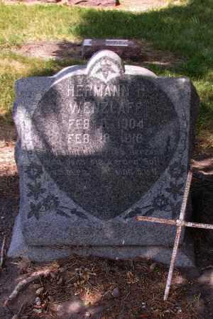 WENZLOFF, HERMANN F. - Cass County, North Dakota | HERMANN F. WENZLOFF - North Dakota Gravestone Photos