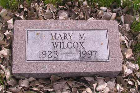WILCOX, MARY M. - Cass County, North Dakota | MARY M. WILCOX - North Dakota Gravestone Photos