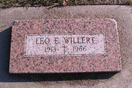 WILLERT, LEO E. - Cass County, North Dakota | LEO E. WILLERT - North Dakota Gravestone Photos