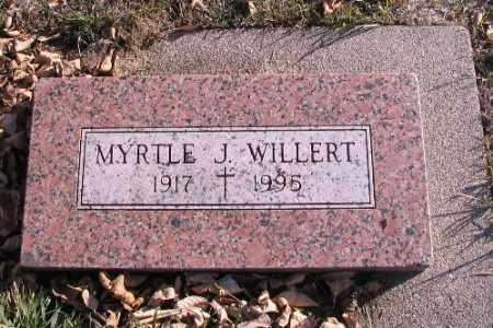 WILLERT, MYRTLE J. - Cass County, North Dakota | MYRTLE J. WILLERT - North Dakota Gravestone Photos
