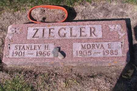 ZIEGLER, MORVA E. - Cass County, North Dakota | MORVA E. ZIEGLER - North Dakota Gravestone Photos