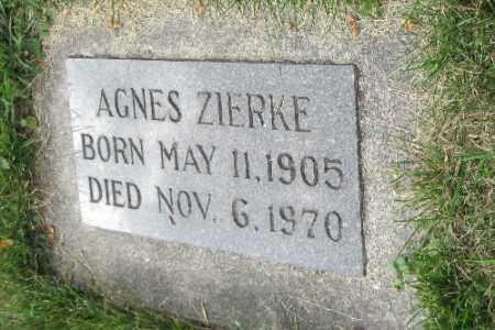 ZIERKE, ANGES - Cass County, North Dakota | ANGES ZIERKE - North Dakota Gravestone Photos