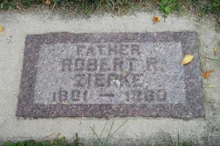 ZIERKE, ROBERT R. - Cass County, North Dakota | ROBERT R. ZIERKE - North Dakota Gravestone Photos