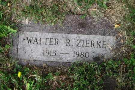ZIERKE, WALTER R. - Cass County, North Dakota   WALTER R. ZIERKE - North Dakota Gravestone Photos