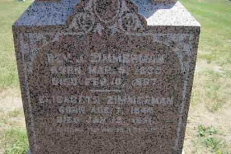 ZIMMERMAN, BEN J. - Cass County, North Dakota | BEN J. ZIMMERMAN - North Dakota Gravestone Photos