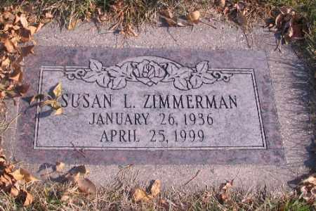 ZIMMERMAN, SUSAN L. - Cass County, North Dakota   SUSAN L. ZIMMERMAN - North Dakota Gravestone Photos