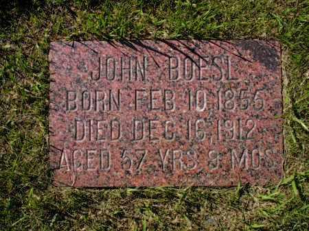 BOESL, JOHN - Cavalier County, North Dakota   JOHN BOESL - North Dakota Gravestone Photos