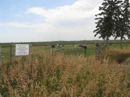 AA-MERRICOURT FIRST CONGREGATI, INFORMATION - Dickey County, North Dakota | INFORMATION AA-MERRICOURT FIRST CONGREGATI - North Dakota Gravestone Photos