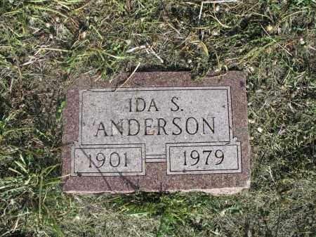ANDERSON 019, IDA S. - Dickey County, North Dakota | IDA S. ANDERSON 019 - North Dakota Gravestone Photos