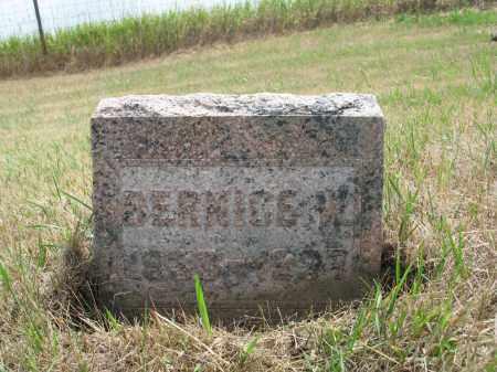 BARTEL 281, BERNICE W. - Dickey County, North Dakota | BERNICE W. BARTEL 281 - North Dakota Gravestone Photos
