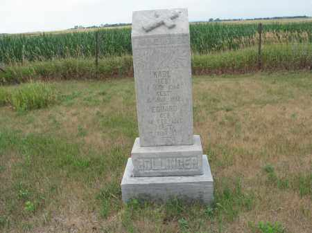 BOLLINGER 315, EDUARD - Dickey County, North Dakota | EDUARD BOLLINGER 315 - North Dakota Gravestone Photos