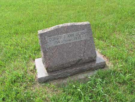 DEAN 109, DOROTHY ANN - Dickey County, North Dakota | DOROTHY ANN DEAN 109 - North Dakota Gravestone Photos