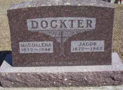 DOCKTER, JACOB - Dickey County, North Dakota | JACOB DOCKTER - North Dakota Gravestone Photos