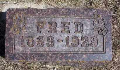 FRANK, FRED - Dickey County, North Dakota | FRED FRANK - North Dakota Gravestone Photos