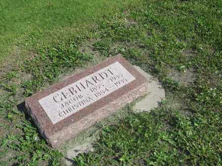 GEBHARDT 004, CHRISTINA - Dickey County, North Dakota | CHRISTINA GEBHARDT 004 - North Dakota Gravestone Photos