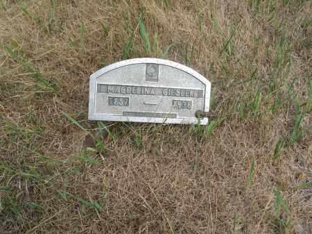 GIESLER 285, MAGDELINA - Dickey County, North Dakota   MAGDELINA GIESLER 285 - North Dakota Gravestone Photos