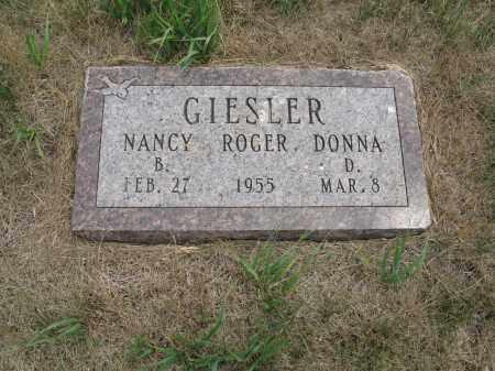 GIESLER 326, DONNA - Dickey County, North Dakota | DONNA GIESLER 326 - North Dakota Gravestone Photos