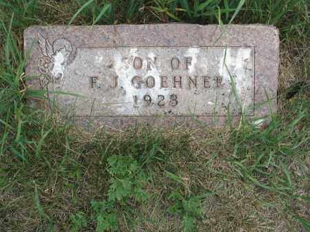 GOEHNER 333, SON OF F.J. - Dickey County, North Dakota   SON OF F.J. GOEHNER 333 - North Dakota Gravestone Photos