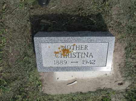 GRUNEICH 013, CHRISTINA - Dickey County, North Dakota | CHRISTINA GRUNEICH 013 - North Dakota Gravestone Photos