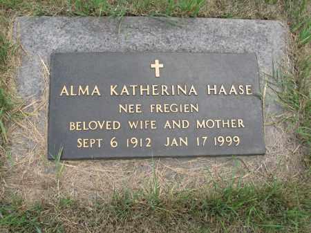 HAASE 252, ALMA KATHERINA - Dickey County, North Dakota | ALMA KATHERINA HAASE 252 - North Dakota Gravestone Photos