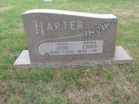 HARTER 246, EMMA - Dickey County, North Dakota | EMMA HARTER 246 - North Dakota Gravestone Photos