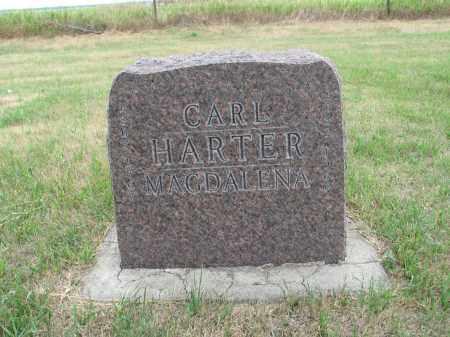 HARTER 269, CARL - Dickey County, North Dakota | CARL HARTER 269 - North Dakota Gravestone Photos