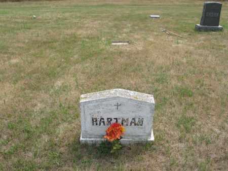 HARTMAN 287, FAMILY MARKER - Dickey County, North Dakota   FAMILY MARKER HARTMAN 287 - North Dakota Gravestone Photos