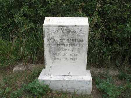 HARTMAN 338, KAROLINE - Dickey County, North Dakota | KAROLINE HARTMAN 338 - North Dakota Gravestone Photos