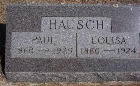 HAUSCH, LOUISA - Dickey County, North Dakota | LOUISA HAUSCH - North Dakota Gravestone Photos
