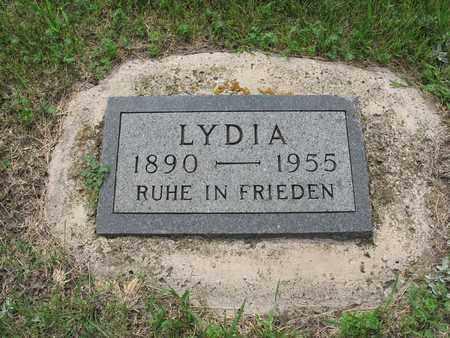 HILDEBRAND HENNEBERG 002, LYDIA - Dickey County, North Dakota   LYDIA HILDEBRAND HENNEBERG 002 - North Dakota Gravestone Photos