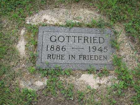 HENNEBERG 003, GOTTFRIED - Dickey County, North Dakota | GOTTFRIED HENNEBERG 003 - North Dakota Gravestone Photos