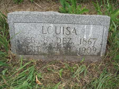 HILDEBRAND 331, LOUISA - Dickey County, North Dakota | LOUISA HILDEBRAND 331 - North Dakota Gravestone Photos