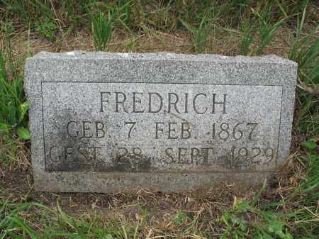 HILDEBRAND 332, FREDRICK - Dickey County, North Dakota | FREDRICK HILDEBRAND 332 - North Dakota Gravestone Photos