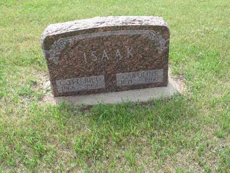LEISCHNER ISAAK 019, CAROLINE - Dickey County, North Dakota | CAROLINE LEISCHNER ISAAK 019 - North Dakota Gravestone Photos