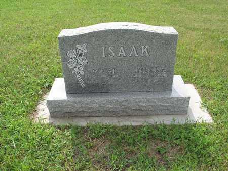 ISAAK 044, OSCAR - Dickey County, North Dakota | OSCAR ISAAK 044 - North Dakota Gravestone Photos