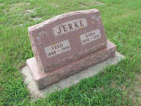 JERKE 206, DORA - Dickey County, North Dakota | DORA JERKE 206 - North Dakota Gravestone Photos
