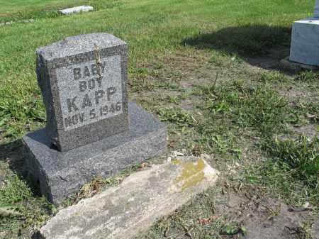 KAPP 005, BOY - Dickey County, North Dakota | BOY KAPP 005 - North Dakota Gravestone Photos